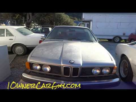 E24 BMW 630CSi 6 Series Coupe 1 Owner For Sale Cheap $895