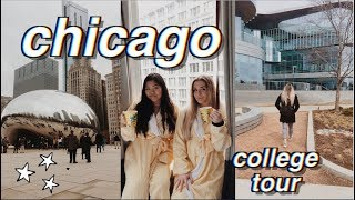 CHICAGO WITH MY BEST FRIEND! (northwestern university campus tour)