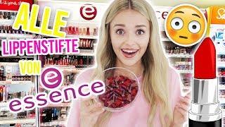 XXL LIPPENSTIFT aus ALLEN Lippenstiften von ESSENCE machen | XLAETA