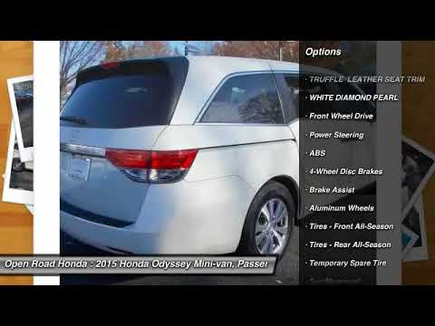 Great 2015 Honda Odyssey Edison NJ 9328P. Open Road Honda