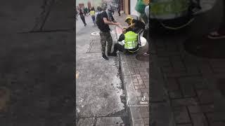 1.326 policías han sido heridos mediante hechos vandálicos. Rechazamos todo tipo de violencia.