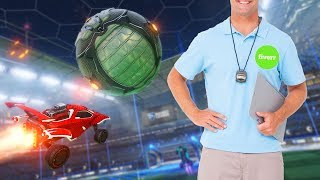 I hired a Rocket League coach on fiverr then challenged him to 1v1