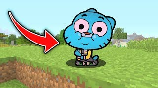 Minecraft :Gumball TURNED INTO A BABY! (Ps3/Xbox360/PS4/XboxOne/PE/MCPE)