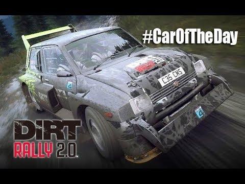MG Metro 6R4 - #CarOfTheDay - Dirt Rally 2.0