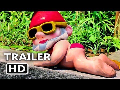 SHERLOCK GNOMES New Trailer (2018) Johnny Depp Animation, Kids Movie HD