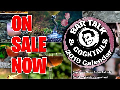 2019 BTC Calendar Of Bruce Original Cocktails - On Sale Now