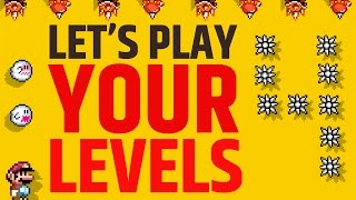 Super Mario Maker - Submit the Hardest Levels Now!