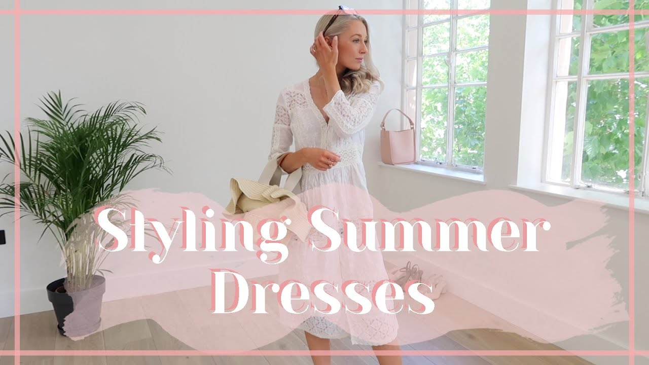 STYLING SUMMER DRESSES // Heatwave Outfit Ideas // Fashion Mumblr 6