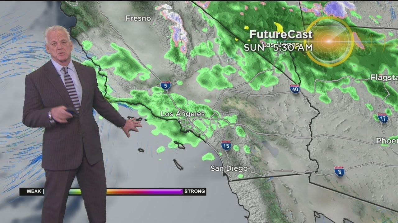 Garth Kemp's Weather Forecast (March 9)