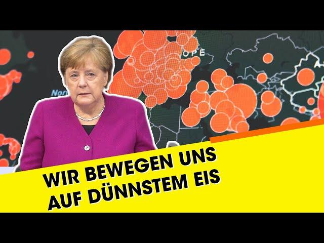 """Kanzlerin Merkel über Corona: """"Die Situation ist trügerisch!"""""""