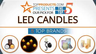 Best LED Candle Reviews 2017 – How to Choose the Best LED Candle