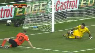 Nederland 2-1 Brazilië - Tweede Helft - 02-07-2010 {WK 2010 Kwartfinale}