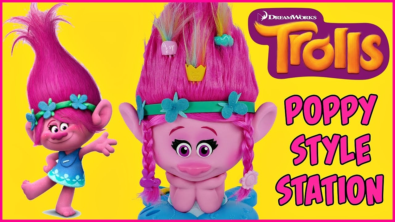 Trolls Movie Poppy Style Station Youtube
