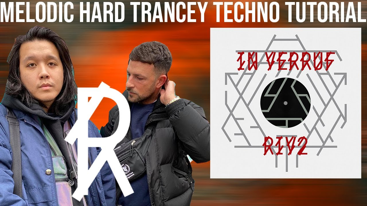 Melodic Hard Trancey Techno Tutorial [R-Label, Viper Diva, Too Much DMT Style] +Samples