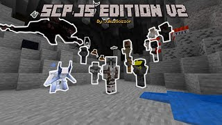 SCP: JS Edition v2 Trailer   MCPE/BE Add-On [Mod]