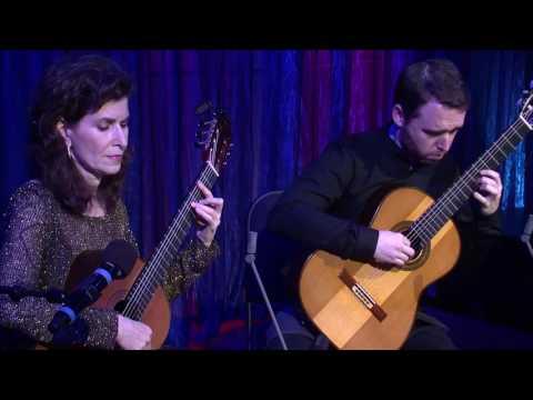 Sharon Isbin and Colin Davin Perform Joaquín Rodrigo: 'Aranjuez, Ma Pensée'