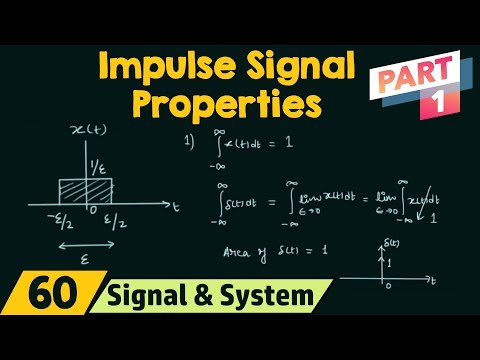 Properties of Impulse Signal (Part 1)