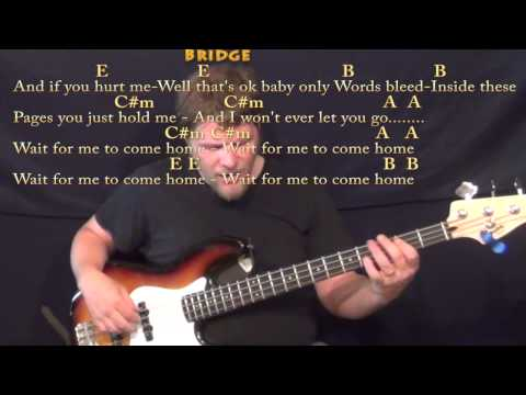 Guitar guitar tabs photograph : Photograph (Ed Sheeran) Bass Guitar Cover Lesson in E with Chords ...