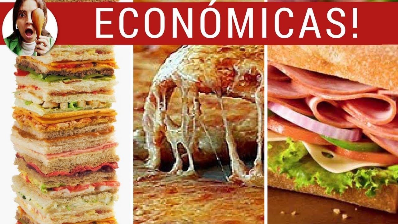 comida rapida y economica para cena