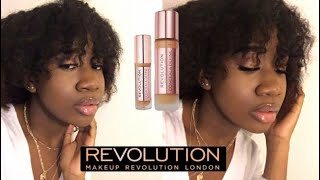 FULL FACE USING REVOLUTION PRODUCTS TESTING NEW FOUNDATION & CONCEALER