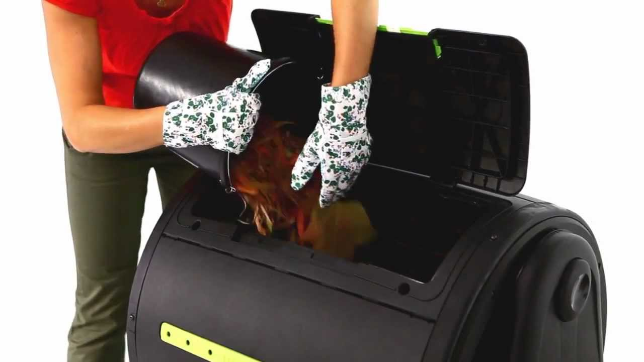 Compostiera mixer Hobbystore - YouTube