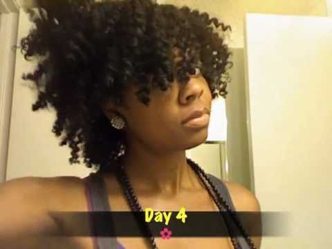 youtube natural hair style part 2 twist out results w cantu 7008 | hqdefault