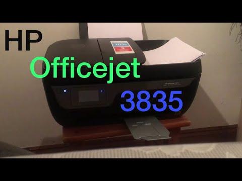 HP Officejet 3835 Printer - YouTube