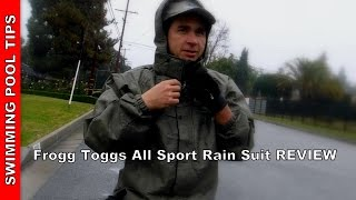Frogg Toggs® All Sport Rain Suit Review