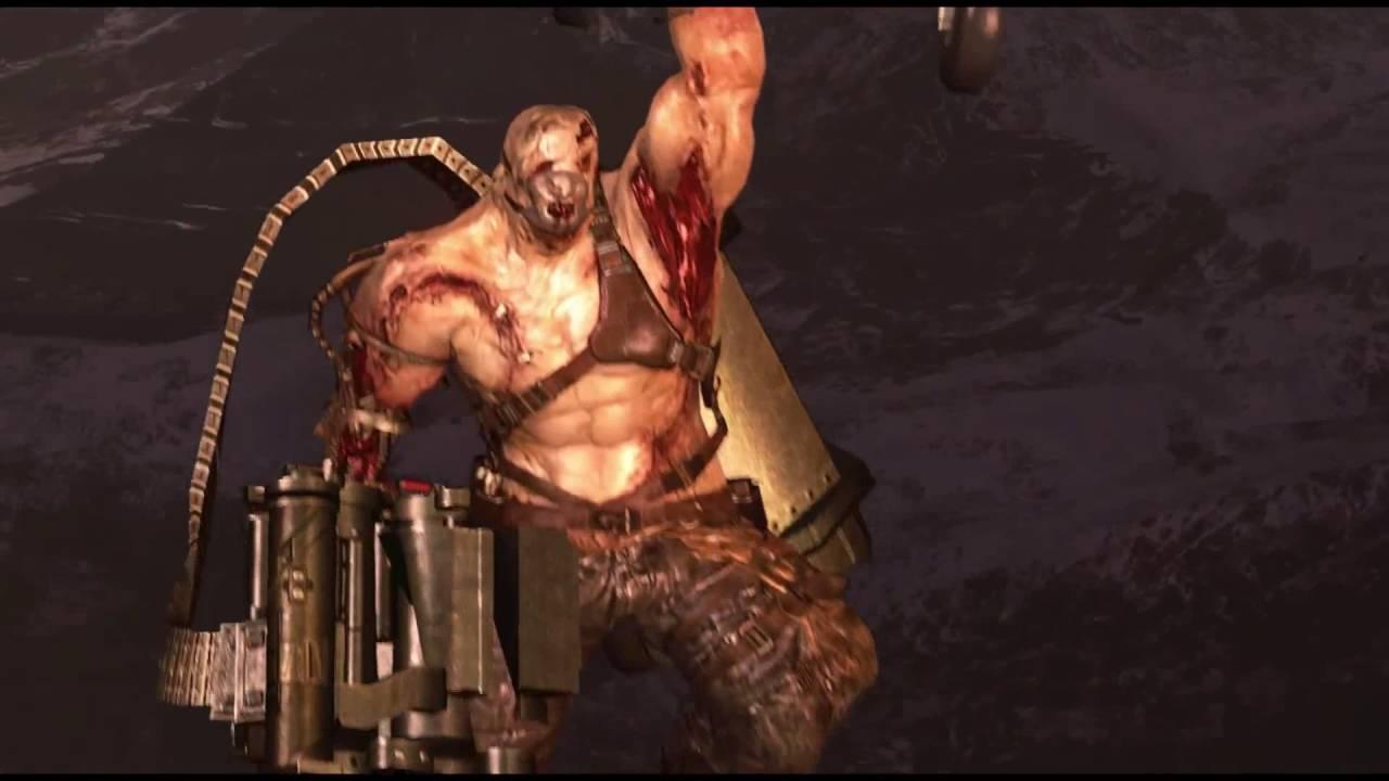 Resident Evil 6 Jake Ustanak Helicopter Boss Youtube