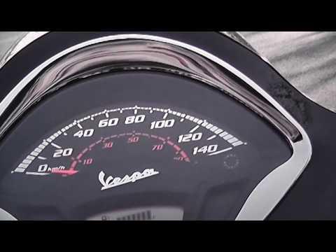 Vespa GTS  Super HPE  Beschleunigung Performance Speed up