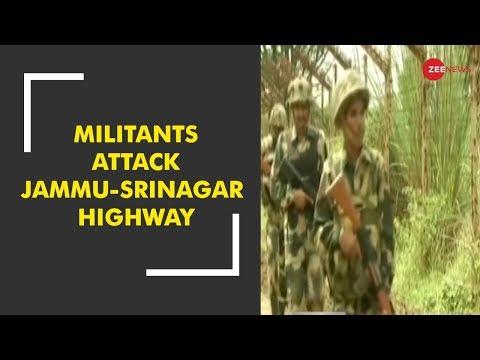 Breaking News: Terror attack on Jammu-Srinagar National Highway