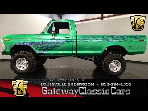 1979 Ford F250 4x4 Pickup Truck - Louisville Showrom - Stock # 903