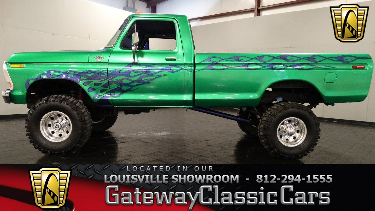 1979 Ford F250 4x4 Pickup Truck Louisville Showrom Stock 903