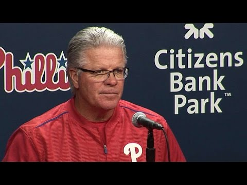 NYM@PHI: Mackanin discusses loss to Mets