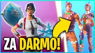 HOW TO PICK UP NEW CHRISTMAS SKINS FOR FREE? (Fortnite Battle Royale)