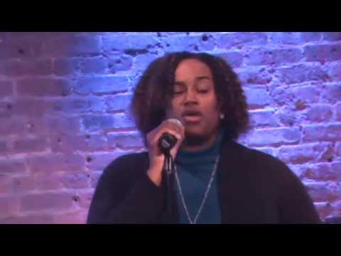 Kimberly Adair singing Natural Woman at The Village Underground NYC