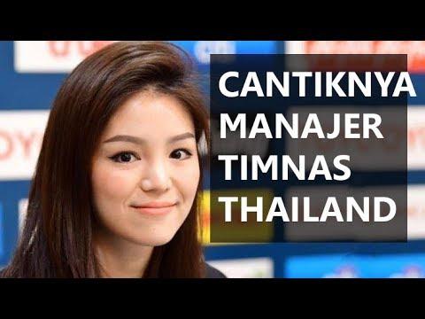 CANTIKNYA manajer timnas u 23 thailand Watanya Wongopasi