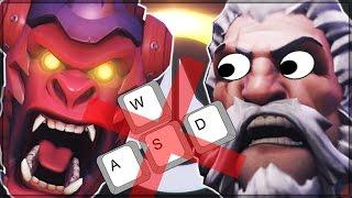 NO WASD NEW META - Overwatch Shenanigans Challenge!