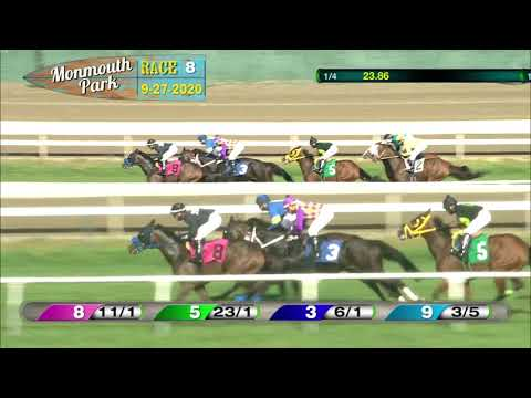video thumbnail for MONMOUTH PARK 09-27-20 RACE 8