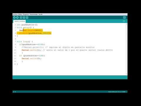 Serial Print Y Serial Write (arduino A Processing) Parte 1 Codigo Arduino