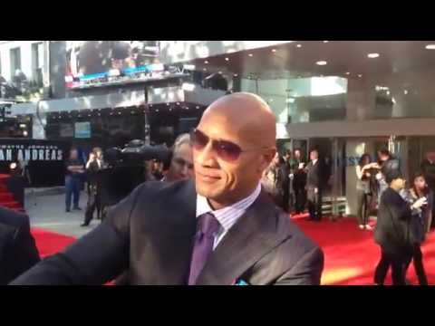 Dwayne 'the rock' Johnson - FOCUS at San Andreas world premiere