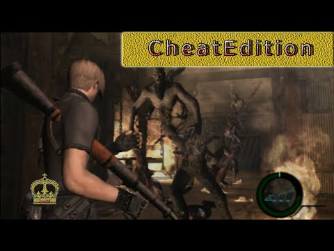 Resident Evil 4 cheat edition PS2