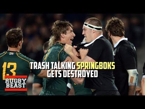 Trash talking Springboks get destroyed
