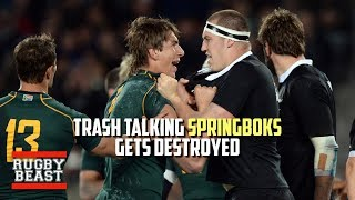 Trash talking Springboks get destroyed