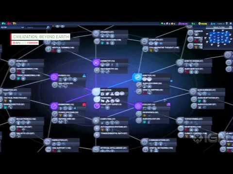 Civilization Beyond Earth Gameplay Demo   IGN Live Gamescom 2014