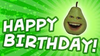 Happy Birthday from Pear! [Annoying Orange]