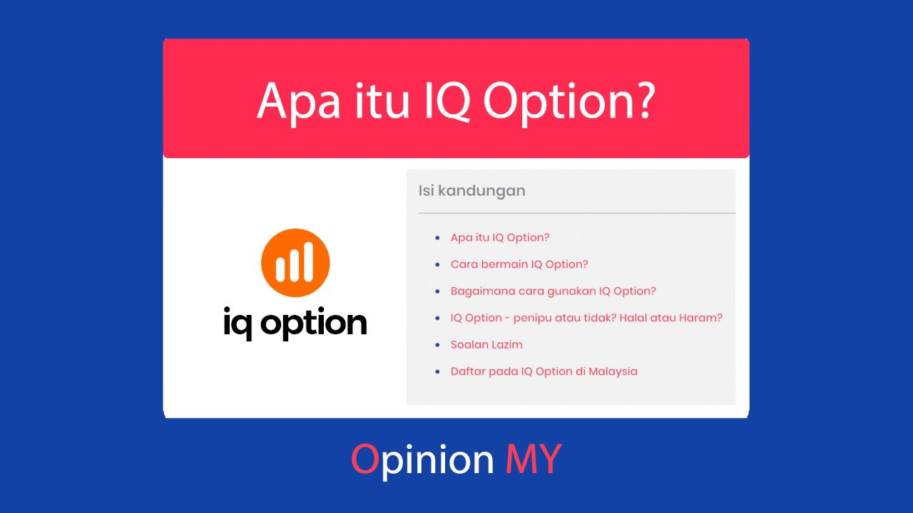 Belajar Trading Binary Di Platform Demo IQ Option - Artikel Forex