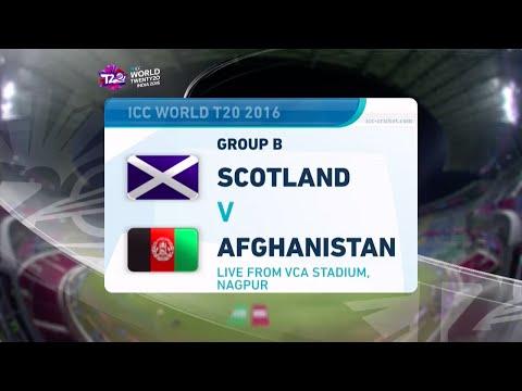ICC #WT20 Scotland vs Afghanistan Highlights