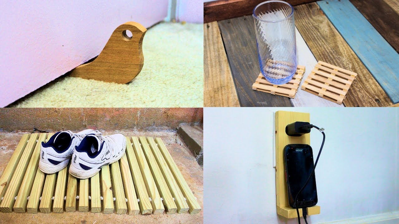 10 Simple Wood Projects That Make Great Gifts 2 Youtube