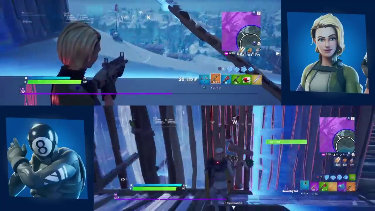 Showing you how to do split screen on ps4 and Xbox one in ...